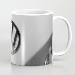 Hippie Van - B&W Splittie Coffee Mug