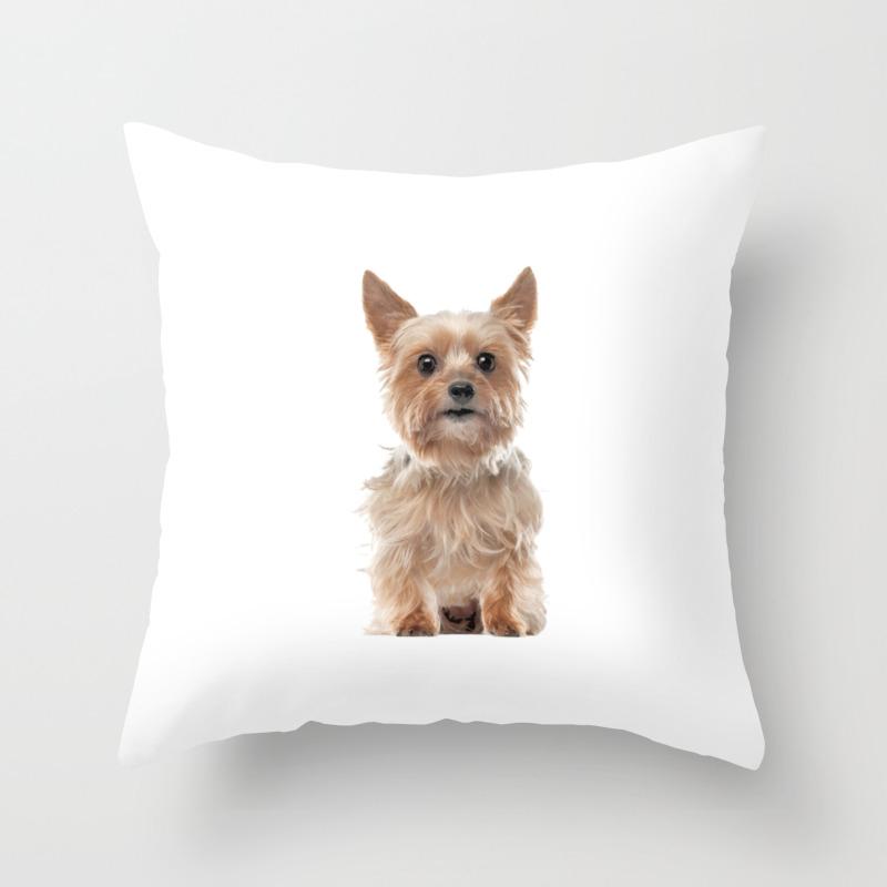 Yorkie Design Yorkie Mom Women Girls Yorkshire Terrier Owner Throw Pillow By Estellestarsshop Society6