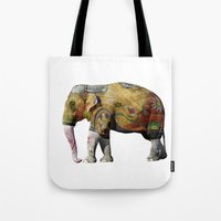 tatoo Tote Bags featuring Damn Tatoo Artists by Robin Curtiss