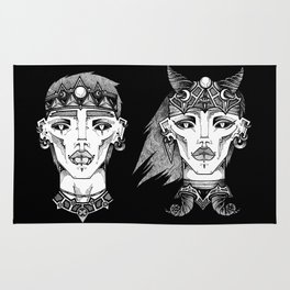 Ickus & Oblina  Rug