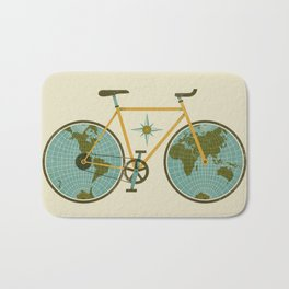 Ride For The World Bath Mat