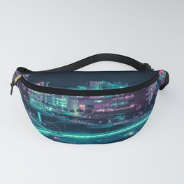 Neon San Diego Fanny Pack