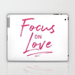 Focus on Love Laptop & iPad Skin
