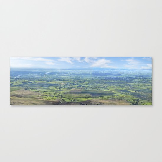View from the Knockmealdown Mountains, Ireland Canvas Print