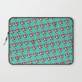 GOOPY GREEN PIZZA Laptop Sleeve