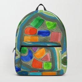 Jewel Nests Pattern Backpack