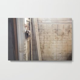 Celebrate the Toilet, lower ninth ward New Orleans Metal Print