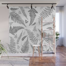 Ferns Pattern Wall Mural