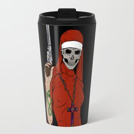 Skull nun Travel Mug