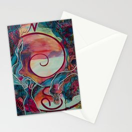 Mermaid Transformation Stationery Cards