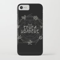 coven iPhone & iPod Cases featuring The Seven Wonders by Barn Bocock