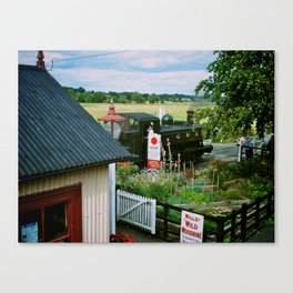 Bodiam Station, Kent & East Sussex Railway Canvas Print