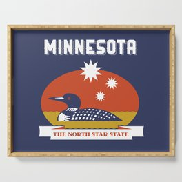 Minnesota - Redesigning The States Series Serving Tray