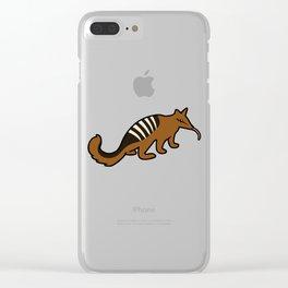 Cute Numbat Clear iPhone Case