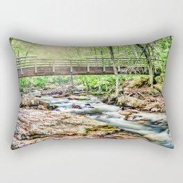 Bridge to Nature Rectangular Pillow