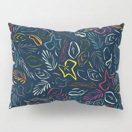 flora indigo Pillow Sham