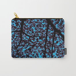 Mystic Majestic Upwards View Tree Top Shadow Pattern Carry-All Pouch