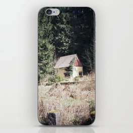 travelling east into the past iPhone Skin