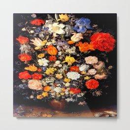 Pick A Flower Ya Lucky Man Metal Print