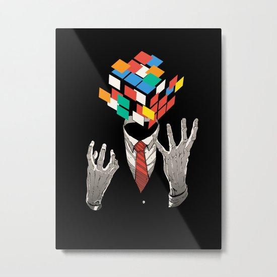Mind Game Metal Print