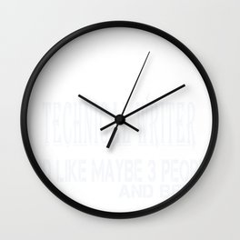 Untitled-1_Technical Writer Wall Clock