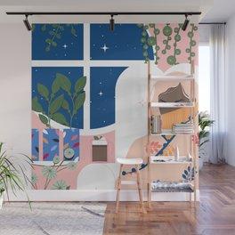 Plant Girl #8 Wall Mural