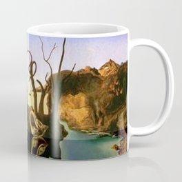 Swans Reflecting Elephants by Salvador Dali Coffee Mug