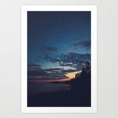 superior sunsets. Art Print