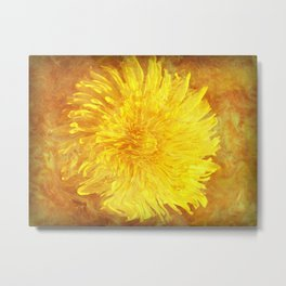 Sunshine Dandy Metal Print