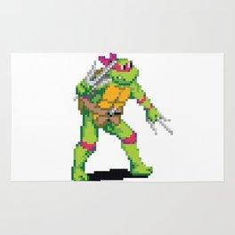 Pixelated Teenage Mutant Ninja Turtles (TMNT) - Raphael Rug