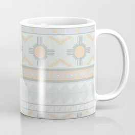 Desert Stripes No. 3 in Sage Bush Green Coffee Mug