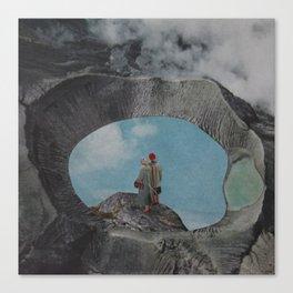 Volcano Sky Canvas Print