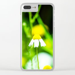 Daisy Clear iPhone Case