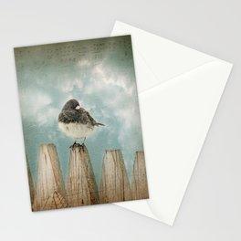 Winter bird Stationery Cards