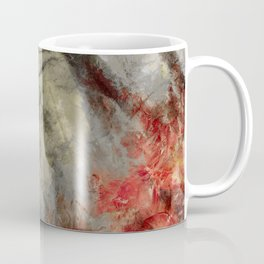 abstract misty forest painting hvhd hfsepia Coffee Mug