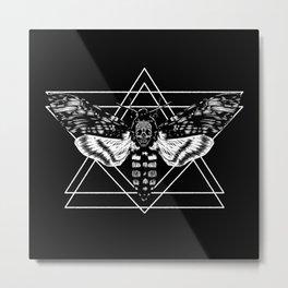 Death's Head Hawkmoth Metal Print