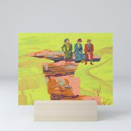 Perch Mini Art Print