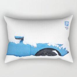 THE BLUE CAR Rectangular Pillow