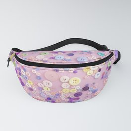 Collection of buttons Fanny Pack