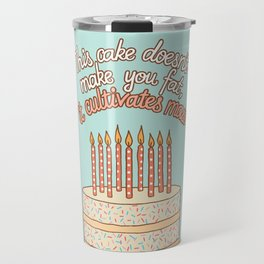 Mass cultivating birthday cake Travel Mug