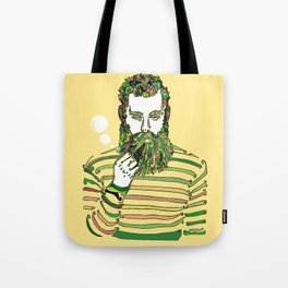 Sea Wolf Ghost (Yellow Version) Tote Bag