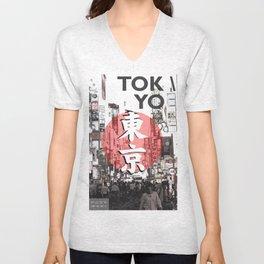 Tokyo Unisex V-Neck