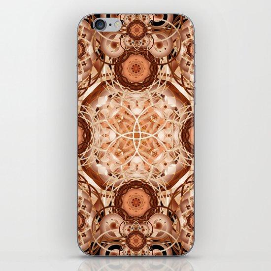 Coffee & Cream Mandala iPhone & iPod Skin
