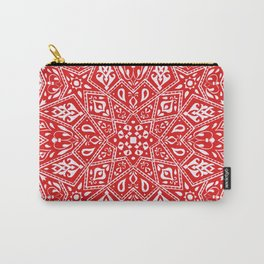 Amirah Red Carry-All Pouch