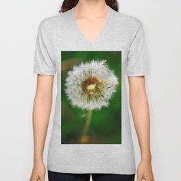 Dandelion Unisex V-Neck