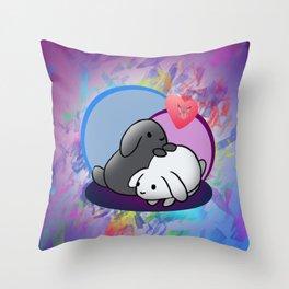 Sooty & Snow Icon Throw Pillow