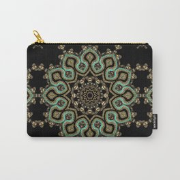 Art Deco No. 8 . The round ornament . Carry-All Pouch