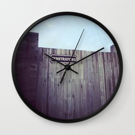 penetrators Wall Clock