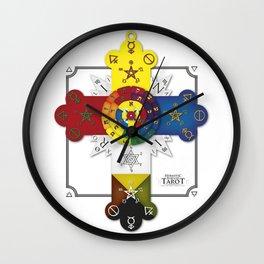 Hermetic Cross Wall Clock