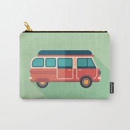 Retro Minivan Carry-All Pouch